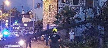 Nevrijeme na Poreštini – 16 intervencija porečkih vatrogasaca