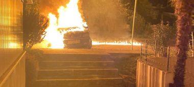 Požar u Červar Portu progutao tri automobila