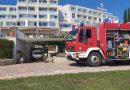 Gašenje požara u hotelu na otoku Sv. Nikola